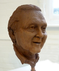 Sculpted Head Image 1