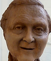 Sculpted Head Image Close-up