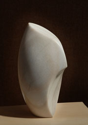 Stone Sculpture in Rainbow Alabaster